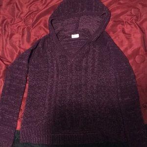 A V cardigan sweater